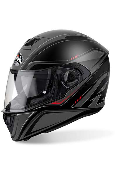 AIROH CASCO INTEGRALE AIROH STORM SPRINTER NERO MATTO